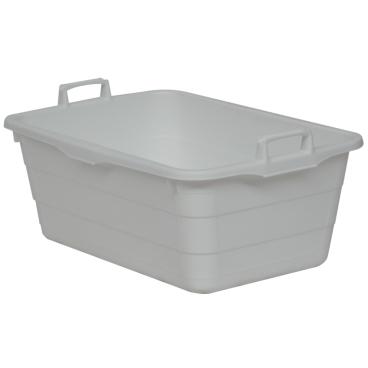 novocal Kunststoffwanne, 90 Liter Farbe: weiß