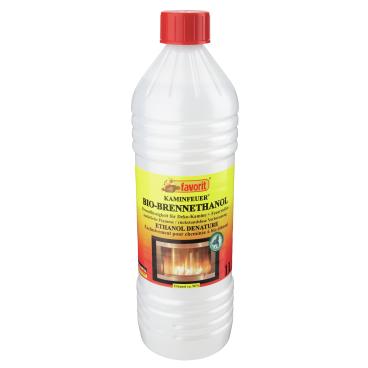 Favorit Bio-Ethanol Brennflüssigkeit  1 Liter – Flasche