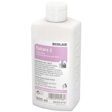 ECOLAB Epicare 2 Waschlotion 500 ml -  Flasche (1 Karton = 12 Flaschen)