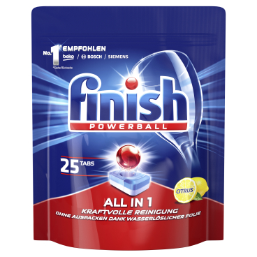 Finish All in 1 XXL Spülmaschinentabs, Citrus