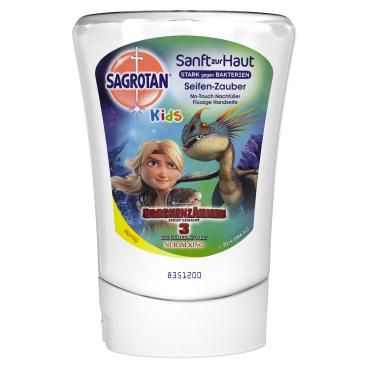 SAGROTAN No Touch Kids Flüssigseife Nachfüller, 250 ml