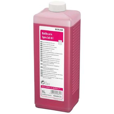 ECOLAB Bathcare Special 61 Sanitärreiniger 1000 ml - Flasche (1 Karton = 4 Flaschen)