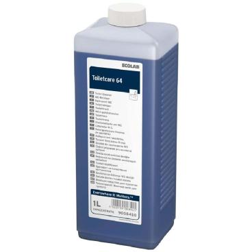 ECOLAB Toiletcare 64 WC-Reiniger 1000 ml - Flasche (1 Karton = 4 Flaschen)