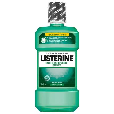 LISTERINE® Zahn- und Zahnfleischschutz Mundspülung