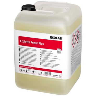 ECOLAB Ecobrite Power Plus Waschmittel 17 kg - Kanister