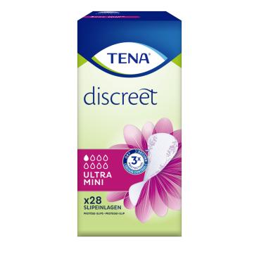 TENA Discreet Ultra Mini Slipeinlagen