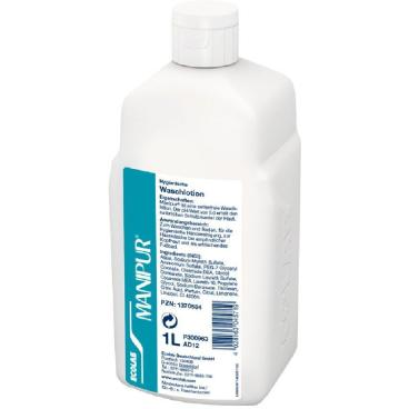ECOLAB Manipur® Waschlotion 1000 ml - Flasche (1 Karton = 12 Flaschen)