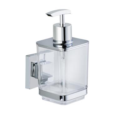 WENKO Quadro Vaccum-Loc Seifenspender, 330 ml