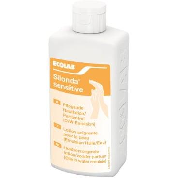 ECOLAB Silonda® sensitive Pflegelotion 500 ml - Flasche (1 Karton = 24 Flaschen)