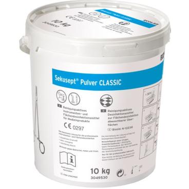 ECOLAB Sekusept® Pulver CLASSIC Desinfektionsmittel 10 kg - Eimer mit Messbecher