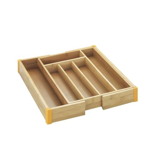 WENKO Bambus Besteckkasten