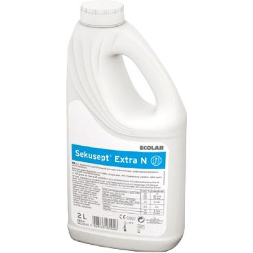 ECOLAB Sekusept® Extra N Instrumentendesinfektion 2 l - Griff-Flasche (1 Karton = 4 Flaschen)