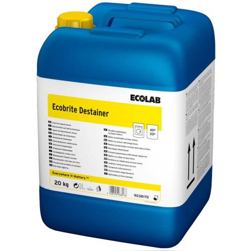 ECOLAB Ecobrite Destainer Bleichmittel
