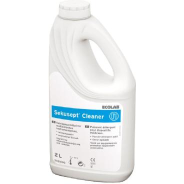 ECOLAB Sekusept® Cleaner Instrumentendesinfektion 2 l - Griff-Flasche (1 Karton = 4 Flaschen)