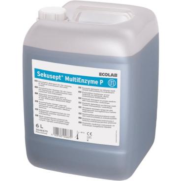 ECOLAB Sekusept® MultiEnzyme P 2 l - Griff-Flasche (1 Karton = 4 Flaschen)
