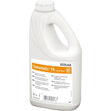 ECOLAB Sekumatic® FK Klarspüler 2 l - Griff-Flasche (1 Karton = 4 Flaschen)