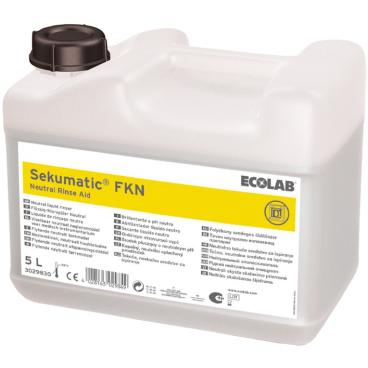 ECOLAB Sekumatic® FKN Klarspüler 5 l - Kanister (1 Karton = 3 Kanister)