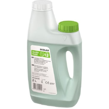 ECOLAB Incidin® Rapid Desinfektionsreiniger 2 l - Flasche (1 Karton = 3 Flaschen mit Dosierer)