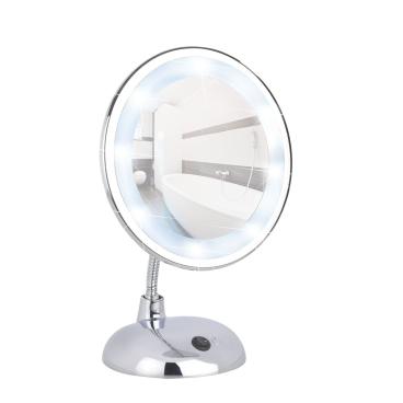 WENKO Style LED Kosmetikspiegel, Chrom