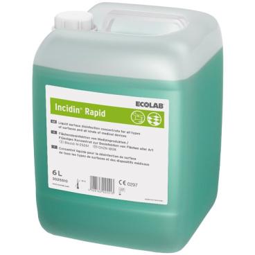 ECOLAB Incidin® Rapid Desinfektionsreiniger 6 l - Kanister