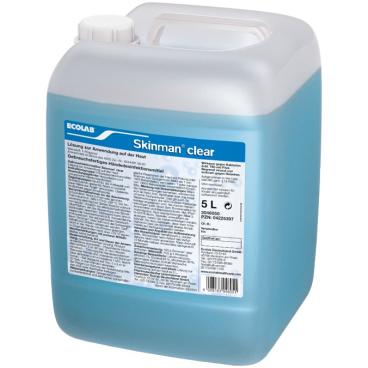 ECOLAB Skinman® clear Händedesinfektion 5 l - Kanister