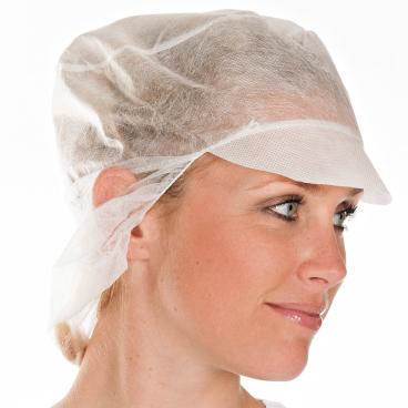 HYGOBASE Eco Schildmütze mit Haarschutz
