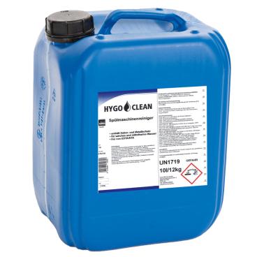 HYGOCLEAN Spülmaschinenreiniger mit Aktiv-Chlor