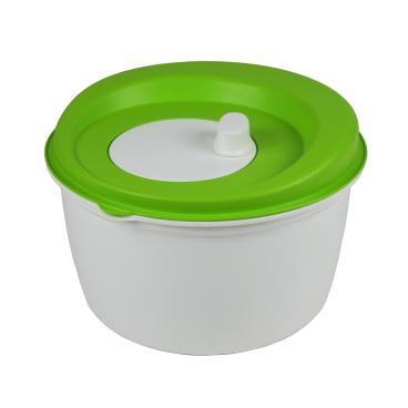 Gies greenline Salatschleuder 5 l, weiß/grün