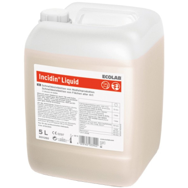 ECOLAB Incidin® Liquid Schnelldesinfektion 1 Karton = 2 x 5 l - Kanister