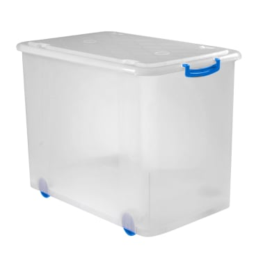 Gies giesline Rollbox, transparent/blau