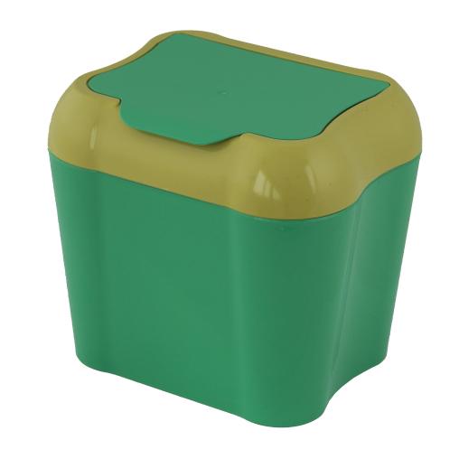 Gies ecoline Abfallbehälter Bio 4 l, senfgrün