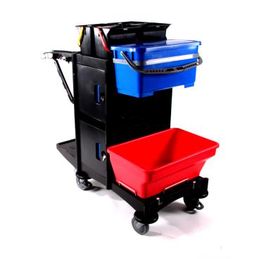 Floorstar Premium Desinfektionswagen, abschließbar