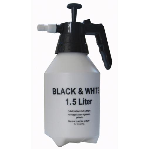 De Witte Black & White Sprühgerät, weiß