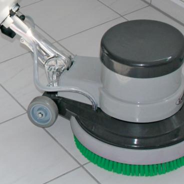 Sprintus Einscheibenmaschine  EM 17 R Komplett mit 2 Bürsten und 1 Treibteller