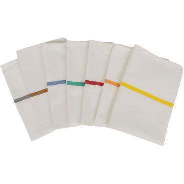 novocal Textil-Wäschesack, selbstöffnend 2 waagerechte Farbstreifen in grau