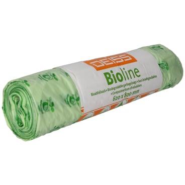 DEISS Bioline Bioabfallsäcke, 60 Liter