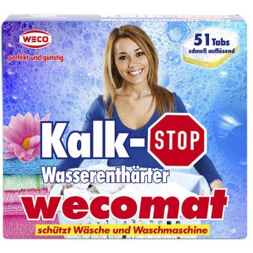 Wecomat Kalk-Stop Wasserenthärter Tabs
