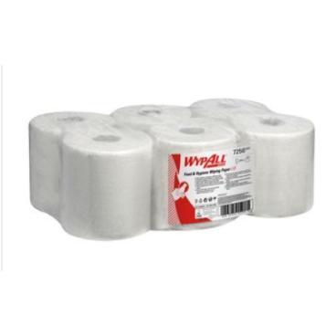 WYPALL L10 Wischtücher für die Zentralentnahme 1 Paket = 6 Rollen á 800 Tücher