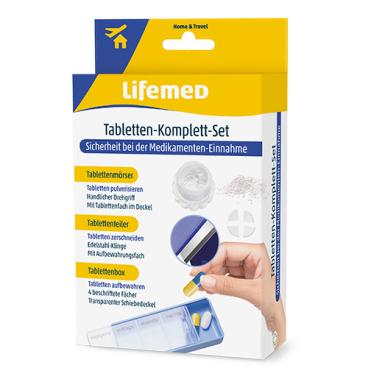 Lifemed® Tabletten-Komplett-Set, blau