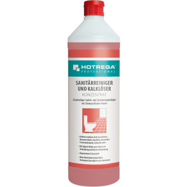 HOTREGA® PROFESSIONAL Sanitärreiniger und Kalklöser