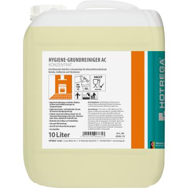 HOTREGA® PROFESSIONAL AC Hygienegrundreiniger