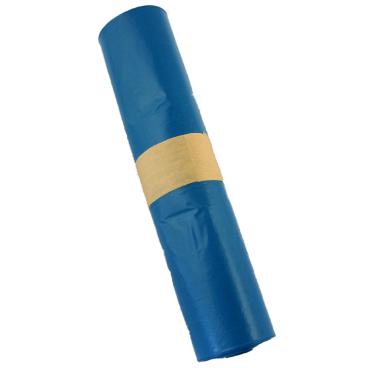 Müllsäcke 120 Liter, blau, Typ 60 1 Palette = 72 Kartons = 720 Rollen = 18000 Säcke