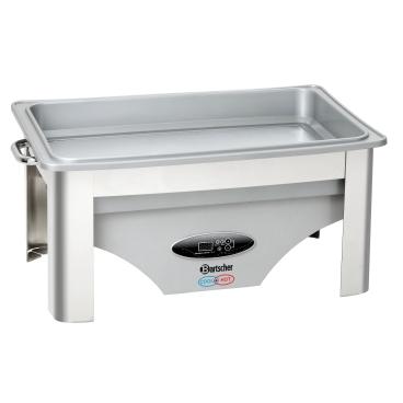Bartscher Chafing-Dish 1/1 COOL + HOT Speisenwärmer Volumen: 9 Liter