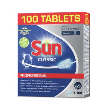 SUN Professional Classic Tabs Spülmaschinentabs