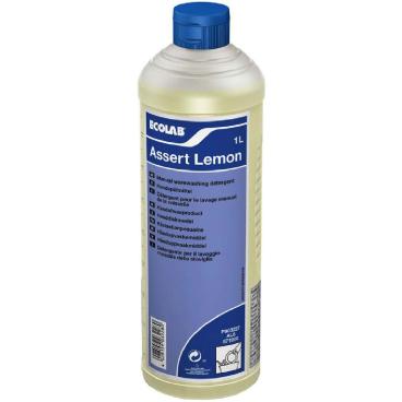 ECOLAB Assert Lemon Handspülmittel 1000 ml - Flasche (1 Karton = 6 Flaschen)
