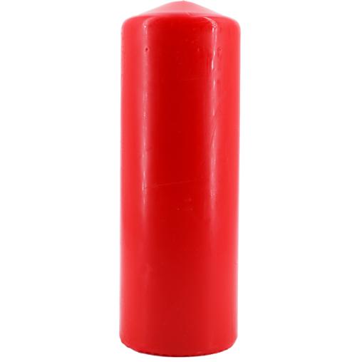 Tischkerze, rot