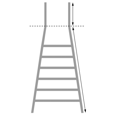 Günzburger Aluminium-Stufenstehleiter