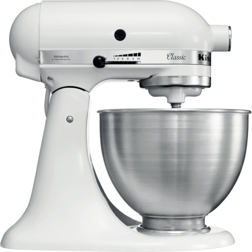 KitchenAid 5K45SSEWH Küchenmaschine