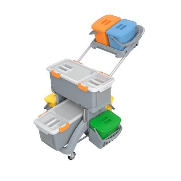 Cleankeeper Moppboxwagen TSMD-0010