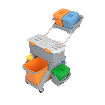 Cleankeeper Moppboxwagen TSMD-0020